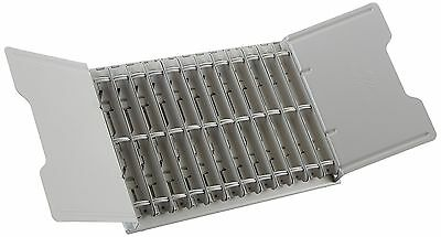 Durable Catalog Display Rack with  12 1-Inch Rings Gray (DBL595110)