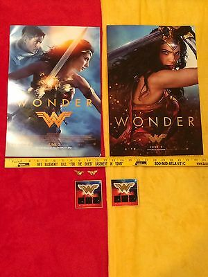 Wonder Woman movie posters Gal Gadot lot,Rebirth #1,Batman,Superman, Rare,Bonus