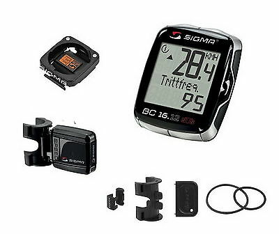 Sigma Sport BC-16-12 STS Wireless 16 Functions