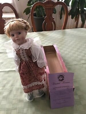 The Doll Crafter / Classicial Treasures  With Cert / Box And Stand