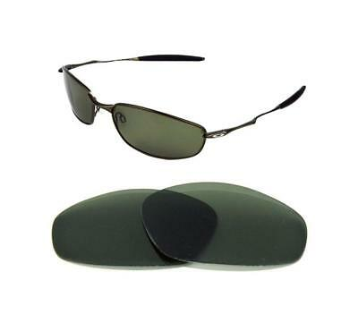 ab5114a654316 NEW POLARIZED BLACK Replacement Lens For Oakley Whisker Sunglasses ...