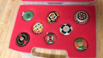 Rare Duncan Tin Whistling Yoyo Collection,rainbow,kayo,oh boy,1930's-50's,gd!