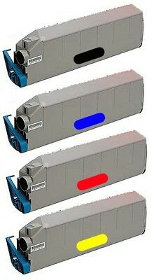 4 Toner cartridges Compatible for OKI C9300
