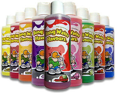 Bong Water Flavors - 9 Flavors to Choose From - 8oz