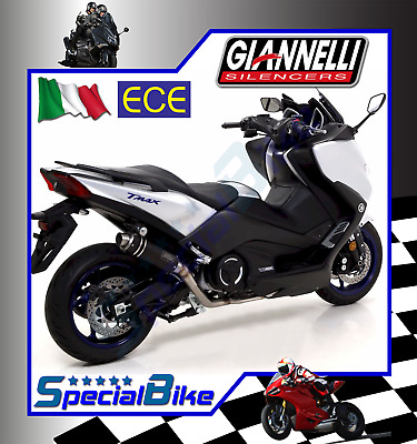 Scarico Completo Yamaha T-Max 530 2017   Giannelli X-Pro Nichrom No Kat Euro 4
