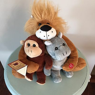 Chantilly Lane Duets Musicals Jungle Sings LION SLEEPS Tonight Tag Monkey Hippo