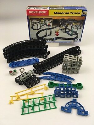 ROKENBOK MONORAIL TRACK SYSTEM 063108. For Parts.