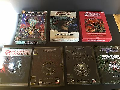 Dungeons and Dragons Book Lot D20 System Modules