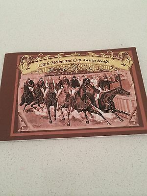 Stamp Booklet 150th Melbourne Cup Prestige Mint new stamps history