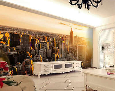 Mastermind City New York Full Wall Mural Photo Wallpaper Print Kid Home 3D Decal