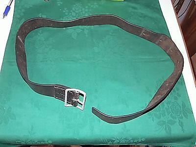 Original Ww2 Imperial Japanese Army Leather Belt-Very Good