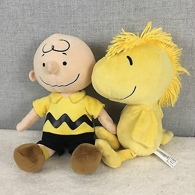Kohl's Cares Peanuts Gang Lot Of 2 Plush Toys Charlie Brown & Woodstock