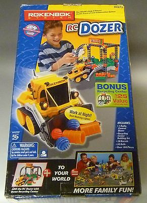 NEW Rokenbok RC Dozer with bonus Recycle Center vehicle classic