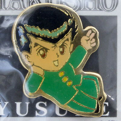 RARE Yu-Yu Hakusho Yusuke Urameshi Pins Movic JAPAN ANIME MANGA