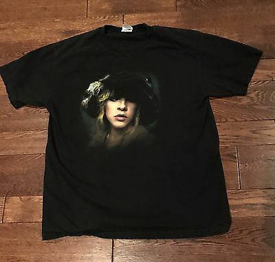 Stevie Nicks - Crystal Visions 2007 Tour Shirt Men's Size Large Fleetwood Mac