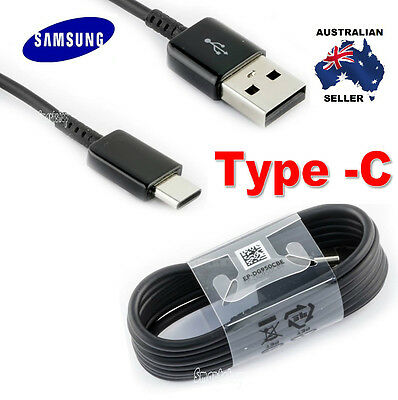 Samsung Galaxy S8 Original Usb Type-C Data Fast Charger Charging Cable Cord Au