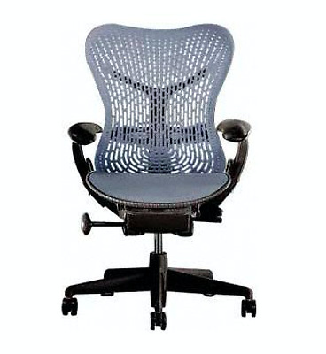 Like N E W Fully Adjustable Herman Miller Mirra Office Chair - Flex Front Seat
