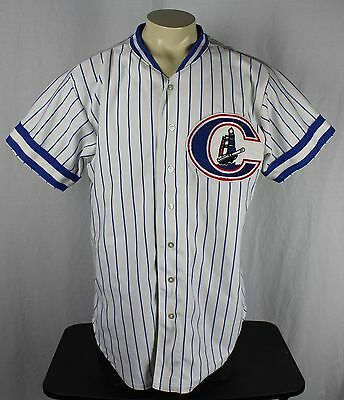 Columbus Clippers Vintage 80's Wilson Sewn Jersey 48 New York Yankees MILB