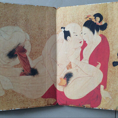 antique   In ancient China, depicting sex moves  picture scroll.