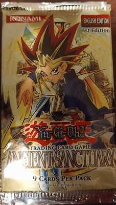Yu-Gi-Oh Trading Cards Ancient Sanctuary Sealed NEW