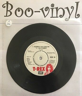 "T. Rex. Uk. 7"" Children Of The Revolution. Marc 20 1972 Ex Con"