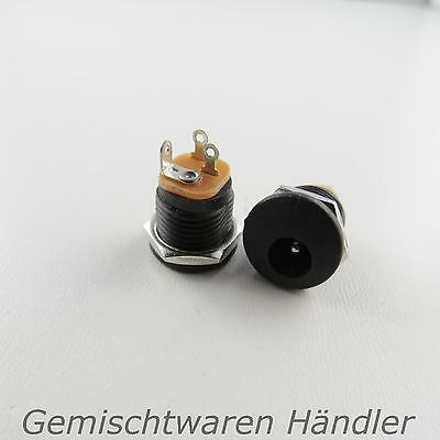 Power Adapter Female Connector DC-022 2,1 x 5,5 mm with Screw Cap Power
