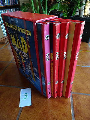 Color Mad Ec Library (Russ Cochran) Volumes 1-4 Issues #1-23 (Set3)