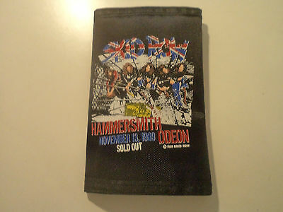 Vintage SKID ROW 80s 90s Unused WALLET heavy metal guns n roses ratt lp t shirt