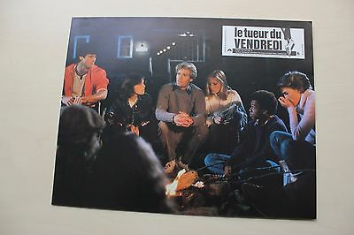 Friday The 13Th Part 2 - Lobby Card Set Of 8