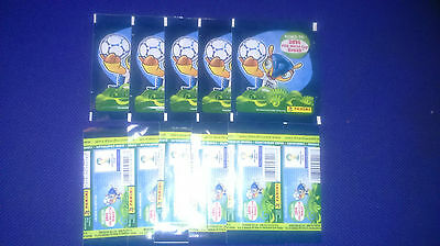 10 Unopened Sticker Packs Road To 2014 Fifa World Cup Brazil Panini