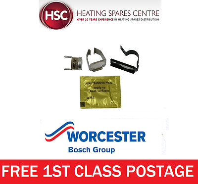 Worcester 26Cdi Xtra Central Heating Sensor Kit 87161423840 - Genuine Free Post