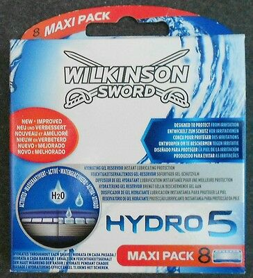 Wilkinson Sword Hydro 5 Blades H2O 8 Pack
