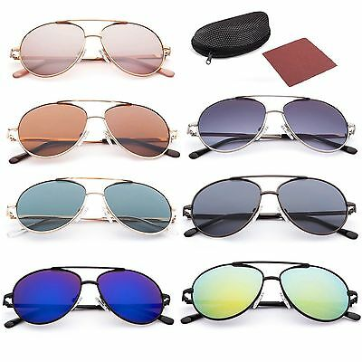 Fashion Sunglasses For Kids Children Toddler Boys Girl Aviator Eyewear 7-12 year