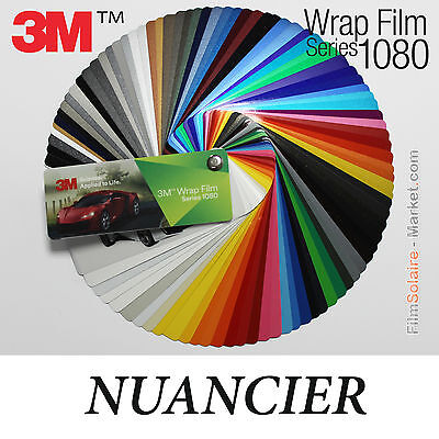 NEW SWATCHES 3M Wrap Film series 1080, 90 samples Vinyl COVERING samples
