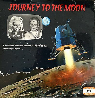 Gerry Andersons Vintage Century 21 Reords - Fireball XL5 Journey To The Moon - 1