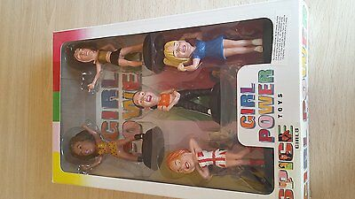 Vintage 1997 The Spice Girls Girl Power Toys Collectable Figure Set - Includes a