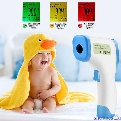 Newest Non Contact Forehead Infrared Medical Digital Thermometer for Body Kid SH