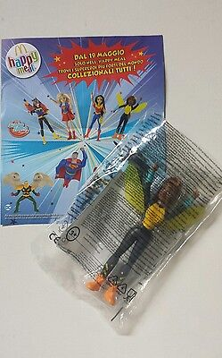 HAPPY MEAL DC SUPER HERO GIRLS - JUSTICE LEAGUE ACTION mc donald's 2017 NUOVA
