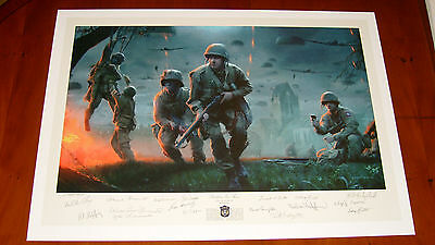 Brothers in Arms by Matt Hall - Veteran Signed / Publisher Proof