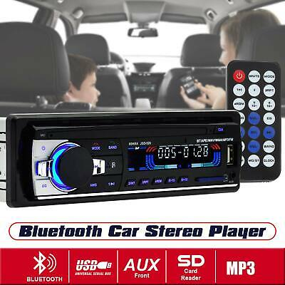 Bluetooth Car Head Unit Player Radio Stereo MP3/USB/SD/AUX-IN/FM In-dash IPod UK