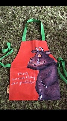 Used Children Gruffalo Apron Orange