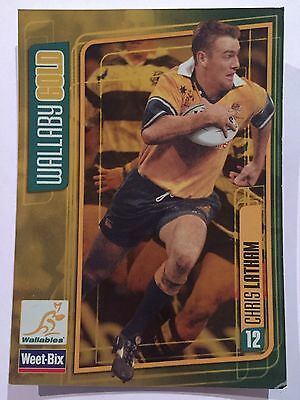 Wallaby Gold Weet-Bix Wallabies Collectible Card Chris Latham