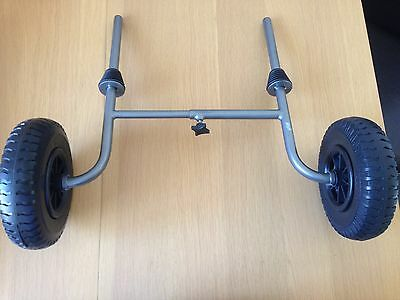 Sit On Top Kayak Adustable Trolley with Solid Wheels
