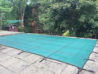 Swimming Pool Winter Safety Cover for 12' x 24' Pool