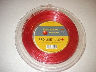 200m Kirschbaum Pro Line #2 Tennis String - Gauge 17L / 1.25mm