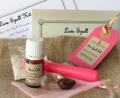 Love Spell Kit - WICCA WITCH Soul Mate Attraction True Love Passion