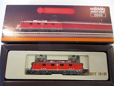 Marklin Z: 8849 Ae6/6 Swiss electric loco, boxed