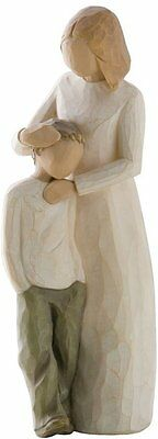 Mother And Son Figurine, Willow Tree,