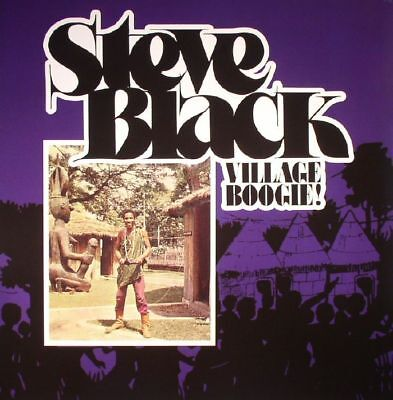 BLACK, Steve - Village Boogie! - Vinyl (LP)