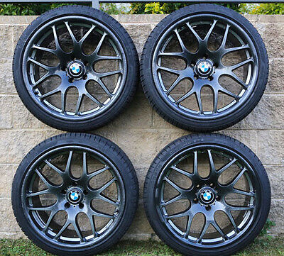 """BMW 19"""" CSI type Mag wheels and tyres for 5 series"""
